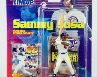 Starting Lineup MLB Home Run Record 62 Sammy Sosa Figure Chicago Cubs