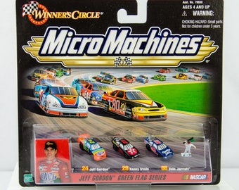 Winner's Circle Micro Machines Jeff Gordon Green Flag Series