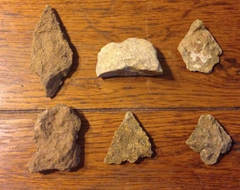 Lot of 6 Paleolithic Artifacts!