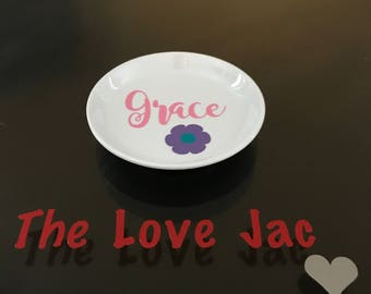 Personalize Ring Dish-Little Girl