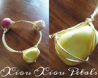 Custom Semi-Precious Stone Stack Bracelet