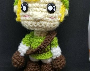 Made to order - Link from Legend of Zelda Amigurumi