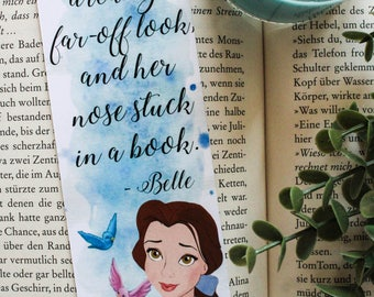 Belle, the beauty and the beast Bookmark