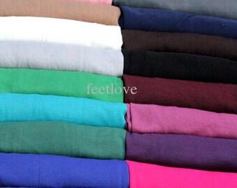Black jersey cotton hijab scarf