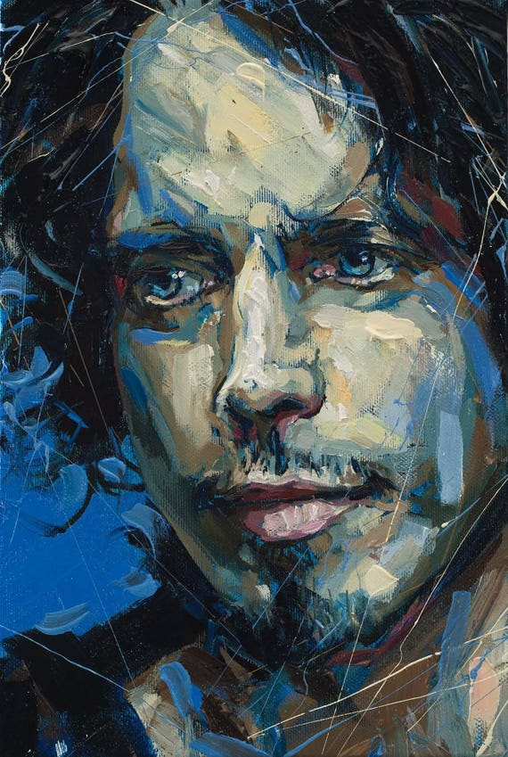 Chris Cornell Tribute Framed 11X17 Print. 100 percent of the proceeds of this item will be donated to charity