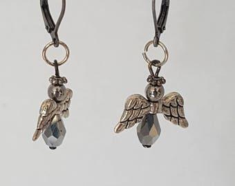Angel earings