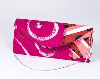 Ankara African print clutch bag made in Ibadan