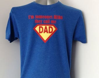 Dad hero t shirt