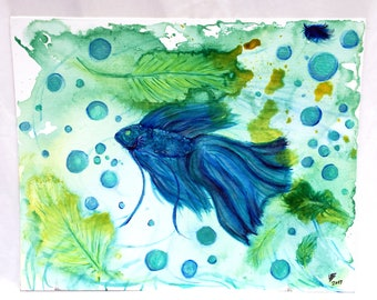 Shimmering Sea Betta