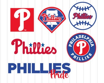 INSTANT DOWNLOAD - Philadelphia Phillies, Philadelphia Phillies Baseball SVG, Philadelphia Phillies Cut Files, Phillies Baseball Clipart