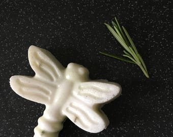 Rosemary Scented Soap With Bits of Rosemary
