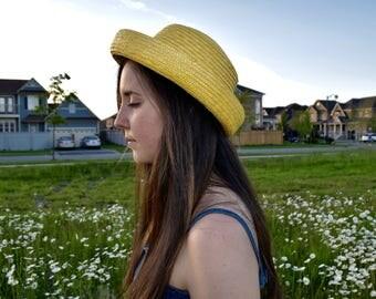 Vintage 1960s Sun Hat