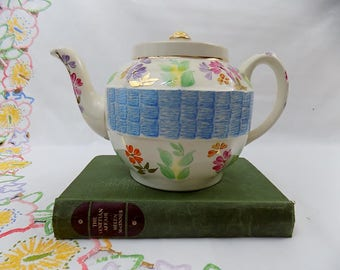 Blossom - Vintage Shabby Chic China Sadler Teapot