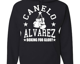 Canelo Álvarez Boxing For Glory Hooded Sweatshirt