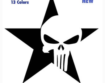 Jeep Wrangler Rubicon Sahara Scrambler Body Window Decals New 2PC Set Universal 13 Colors Off Road Skull Stars