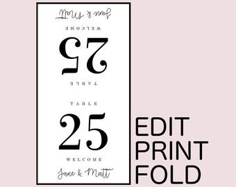 Printable Place Card Templates, Wedding Reception Place Cards, Wedding Seating Plan, Wedding Name Card, Digital Place Card, Wedding Cards