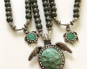 Turtle necklace Mommy&MeCo