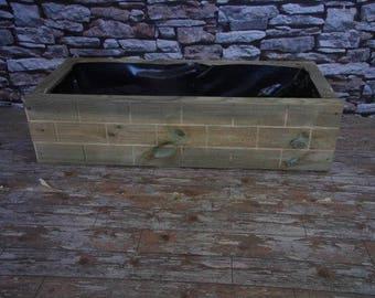 Brick Effect Garden Planter