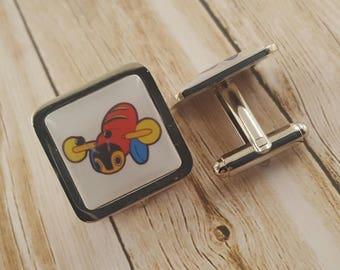 Buzzy Bee Cufflinks