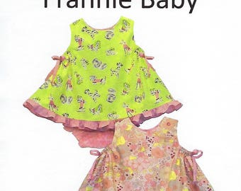 Children's Corner Sewing Pattern #239 / FRANNIE BABY / Sizes 6 - 24 mos