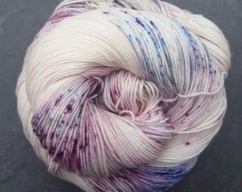 Glitch Nebula ~ Raquel ~ Merino Nylon Sock Yarn