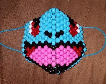 Water Pocket Monster Bead Mask