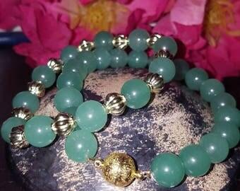Green Aventurine Beaded Bracelets