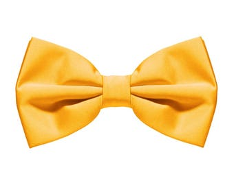 Gloden Yellow Bow Tie