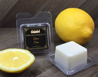 Lemon Drop Soy Wax Melts, Wax Melts, Soy Wax Melts, Soy Wax Tart, Soy Candle Melts, Wax Warmer, Scented Soy Tart Sample