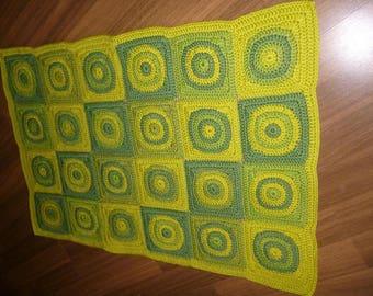 "Crochet rug ""Retro"""