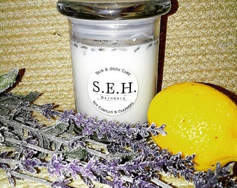 Lavender & Lemon Natural Soy Candle