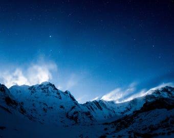 Full Moon light on the Annapurna