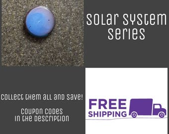 "1"" Neptune - Solar System Series Button Pin or Magnet, FREE SHIPPING & Coupon Codes"