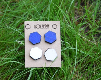 Ear plug hexagonal twin set