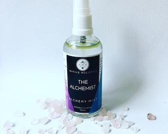 The Alchemist /Vegan /Meditation Grounding Spray /Natural Essential Oil /Calming Room Spray /Yoga Spray /Meditation Spray
