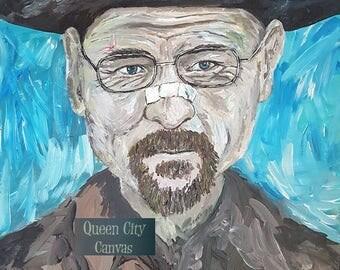 Heisenberg / original acrylic on canvas