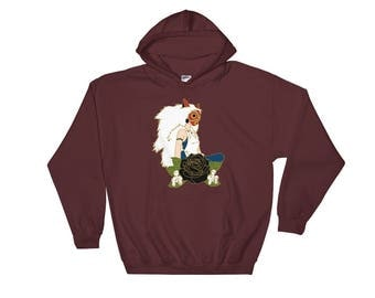 Princess of the Wolf Gods Hoodie
