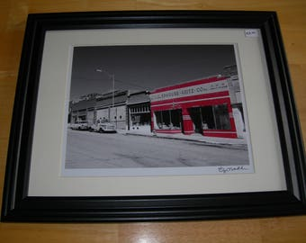Five and Dime in Lowell (Arizona) - Framed, Signed and Numbered 8x10 (12x15 framed)