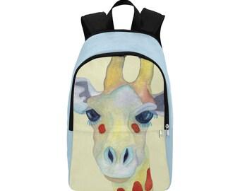 Giraffe Backpack, Rucksack, School Bag, College Backpack, Travel Bag, Shoulder Bag - Ally