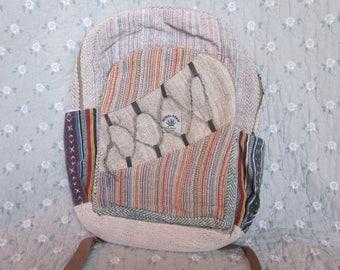hemp backpack!