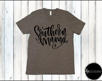 Southern Mama Shirt Southern Mom Shirt Gift for Mom New Mom Shirt New Mommy Shirt Trendy Mama Shirt New Mom Gift Gift for Mom