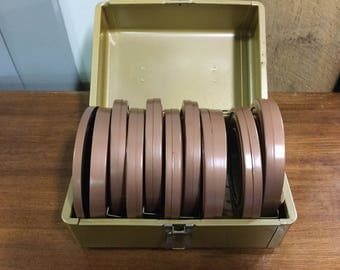 Film Case with Film Reels