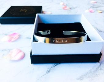 Reminder cuff bracelet - FAITH