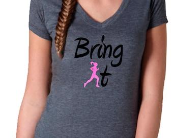 Half Marathon Shirt - Inspirational Runner Top - Women's Running Top