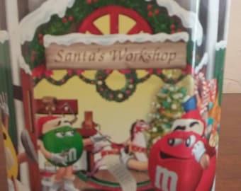 M&M's Santa's Workshop, Number 10 Limited Edition Canister 1999