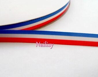 1 meter of France flag Ribbon