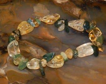 Lemon Quartz Gemstone Bracelet