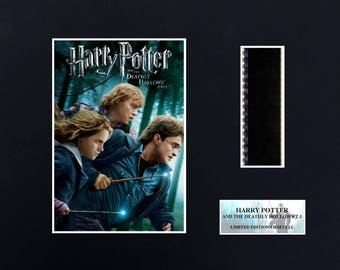 Harry Potter Deathly Hallows pt 1  8 x 10 Film Cell