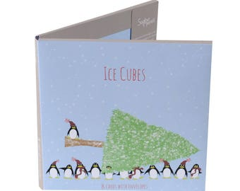 Ice Cubes Card Pack - Penguin