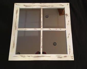 Window Mirror 4 Pane